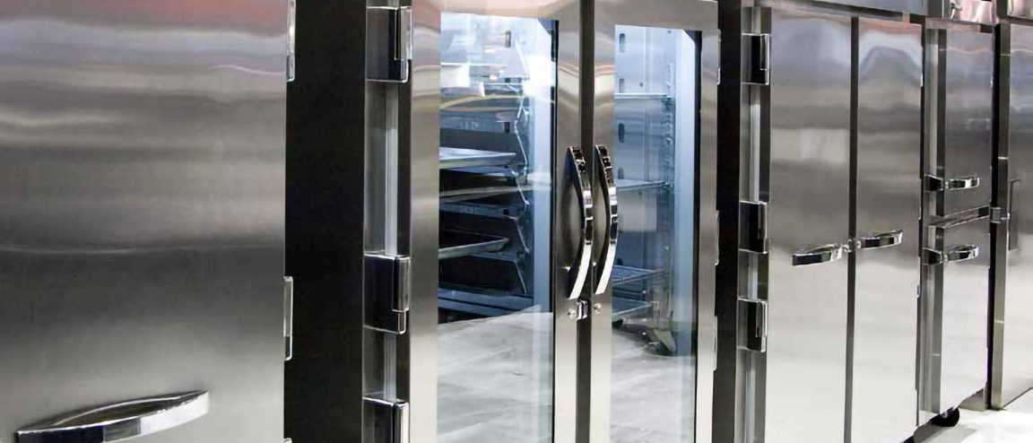 reach-in commercial refrigerator