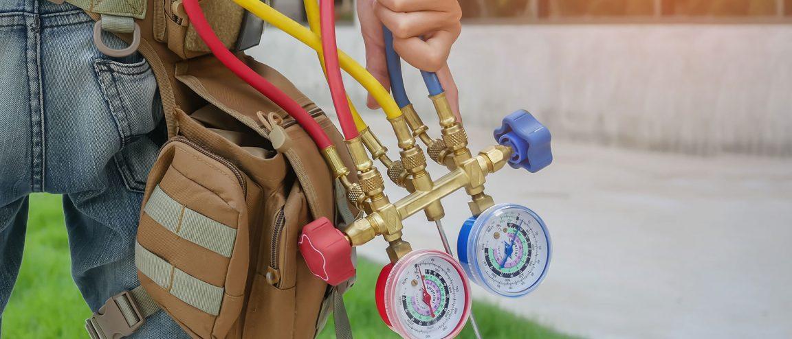 ac pressure test gauges